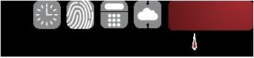 1-800-Timeclocks Logo